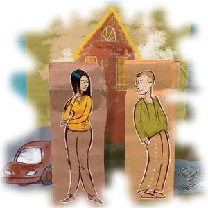 کودکان را قربانی اختلافات زناشویی نکنیم